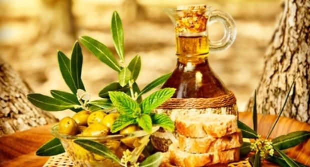 Desayuno con aceite de oliva